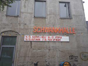 Ankündigung FuckUPNights Bremen bei der Schwankhalle Bremen
