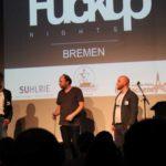 FuckUp Nights Bremen, Jan van Hasselt stellt sich den Fragen