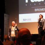 FuckUP Nights, Bremen, Vol.2, Die Veranstalter Jan Wessls von bremen startups.de und Susanna Suhlrie